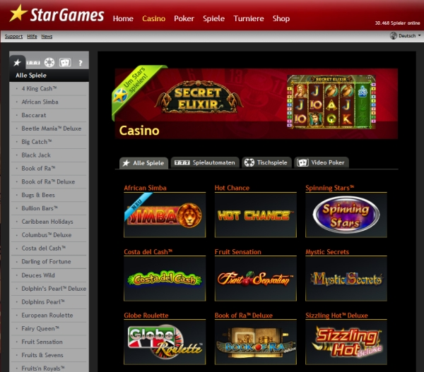sicheres online casino www sizling hot